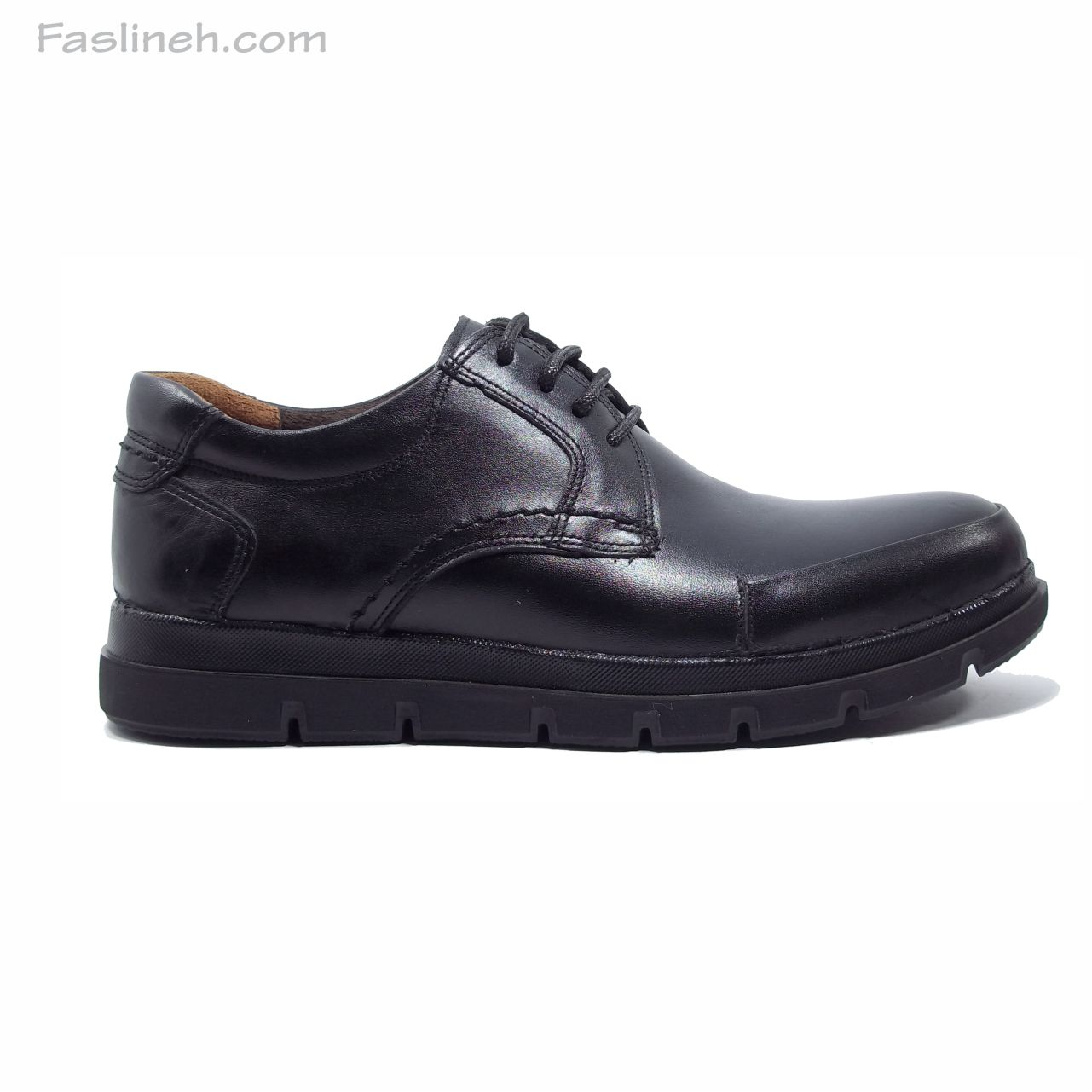 کفش چرم الگانت جدید مشکی