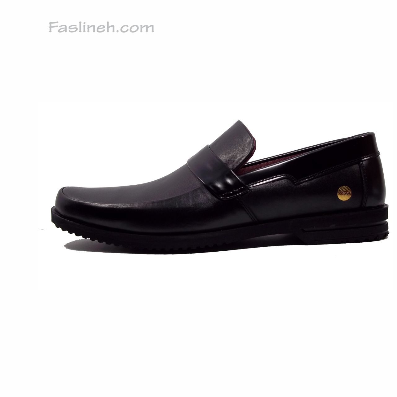 کفش چرم رسمی psb مشکی